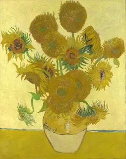 """Bức """"Hoa hướng dương"""" - Van Gogh"""