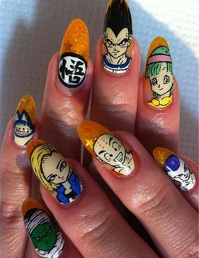 unhas-dragon-ball