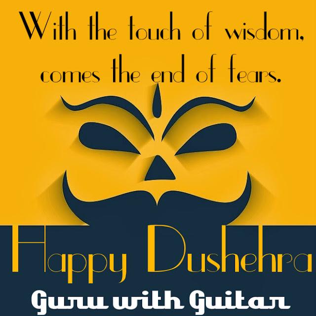 dshehra_quote_wisdom_win_fears_guru_with_guitar_quote_vikrmn_tune_play_repeat_chartered_accountant_ca_author_srishti_vikram_verma_tpr