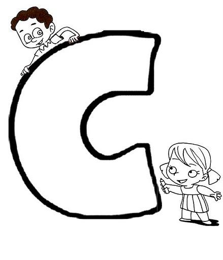 Dibujos De La Letra C Para Colorear