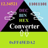 Dec Bin Hex (3-way) Converter