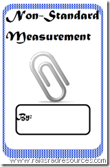 Practice Non-Standard Mesurement with this free, printable student measurement.