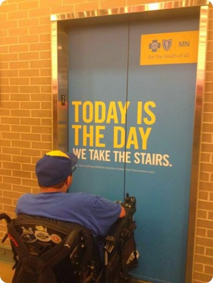 take the stairs fail