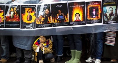 Self-immolation protests by Tibetans