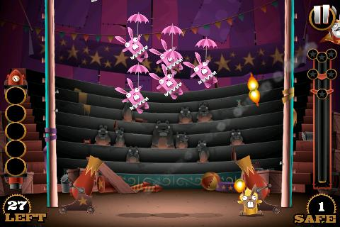 Stunt Bunnies Circus- screenshot