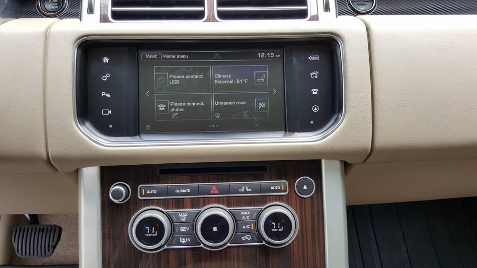 Nội thất xe Range Rover HSE 06