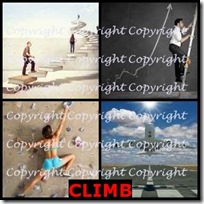 CLIMB- 4 Pics 1 Word Answers 3 Letters