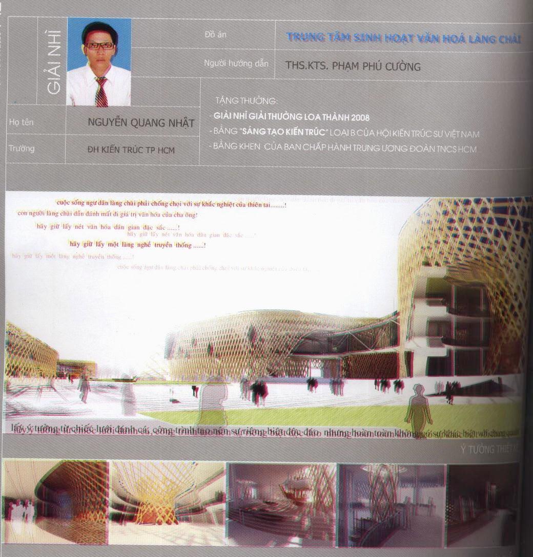 Đồ án Loa thành 2008 giải nhì