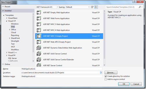 ASPNETMVC5VisualStudio2012ProjectTemplate