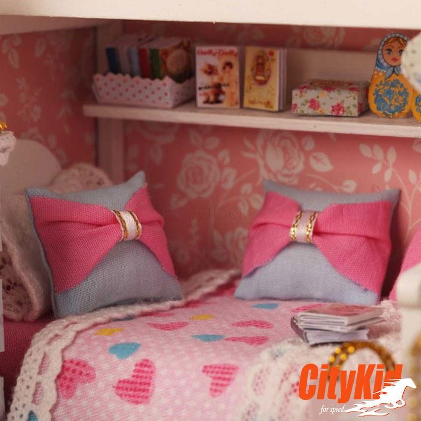Mô hình nhà gỗ Cute Room H-006