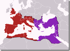 western-and-eastern-roman-empire