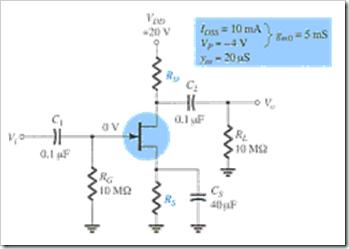 MCQs in FET Amplifiers Fig. 16