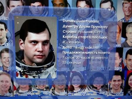 Muzeul Spatiului Moscova: Dumitru Prunariu, singurul cosmonaut roman