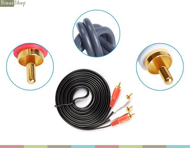 Cable Audio RCA Stereo