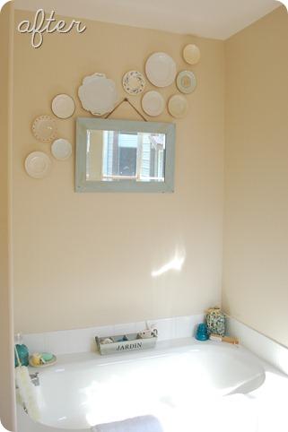 Will Work For Decor Mom S Bathroom Freshen Up