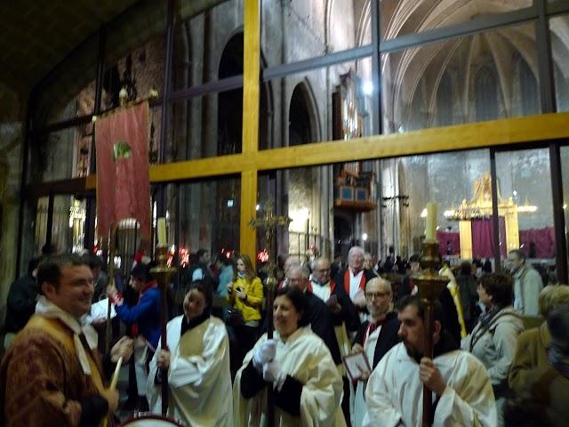 #BCN / El barri del Pi comença a celebrar la festa de Sant Josep Oriol, amb la representació del retaule