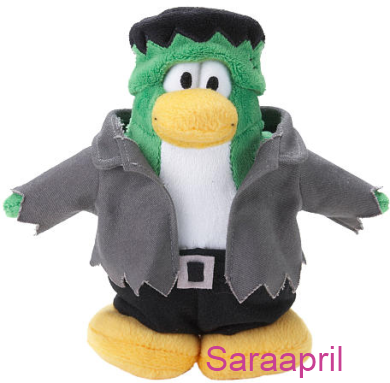 Club Penguin 6.5 Inch Plush – Frankenpenguin :)