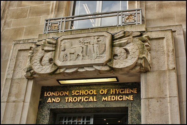 Art Deco London School of Hygiene and Tropical Medicine