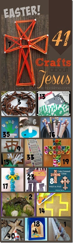 41 Easter Crafts about Jesus