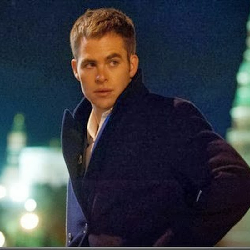 "Chris Pine is going up against Mother Russia in ""Jack Ryan: Shadow Recruit."""