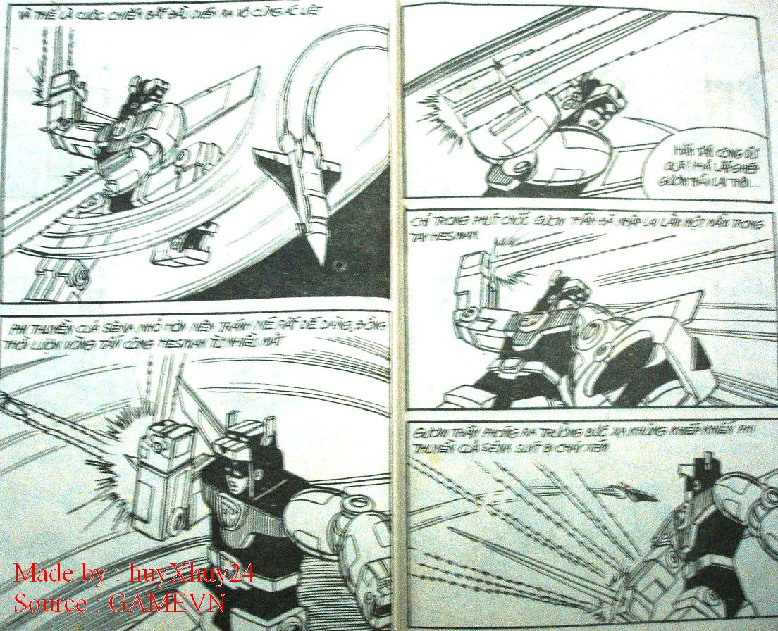 Dũng Sĩ Hesman chap 26 trang 13