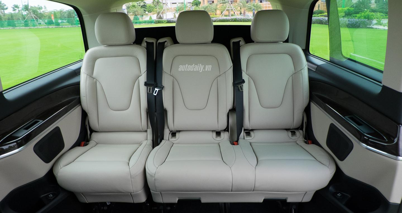 xe Mercedes Benz V250 8 chỗ Máy Xăng 09