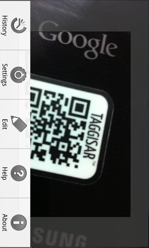 Taggisar - Scan and edit QR's- screenshot