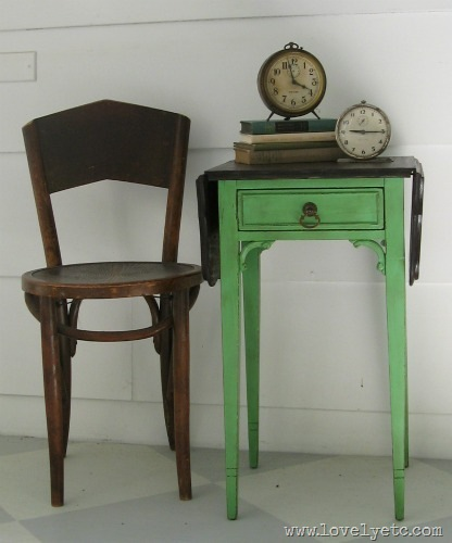 antibes green table
