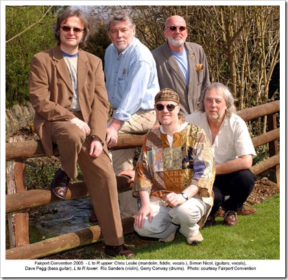 Fairport Convention, summer 2004