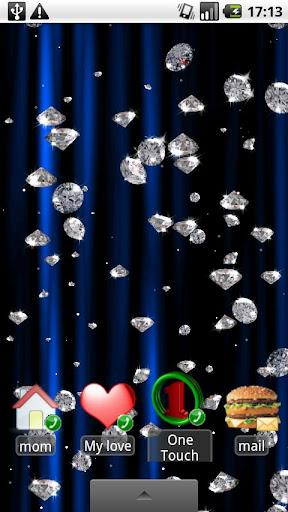 Rain of Diamonds LiveWallpaper v1.3
