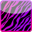 GO Locker Girly Zebra Theme icon