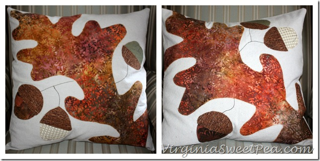 Fall Pillows Collage