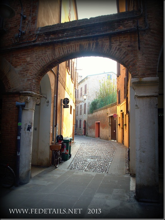 Via Vignatagliata, Ferrara, Emilia Romagna, Italy - Property and Copyrights of FEdetails.net