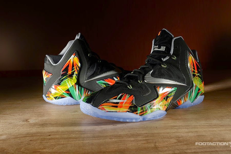 newest 55e29 a0d04 ... The Nike LeBron 11 8220Everglades8221 Drops in 4 Days ...