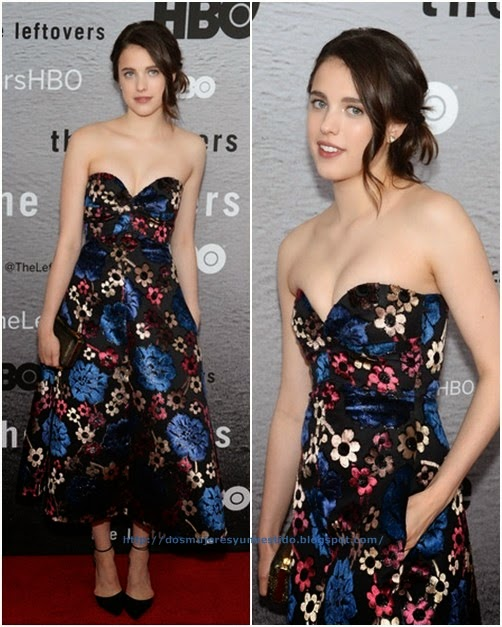 Margaret Qualley Leftovers Premieres NYC