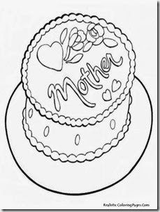 Happy-Mother's-Day-Cakes-Coloring-Pages
