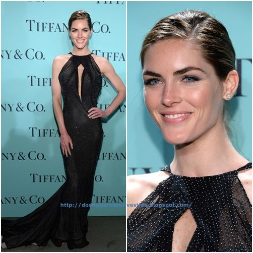 Hilary Rhoda Tiffany Co Celebrates Blue Book Ball (4)