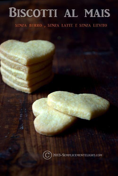 Biscotti al mais senza burro Bimby