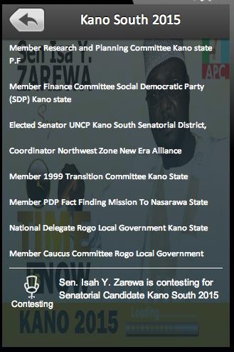 Kano South 2015