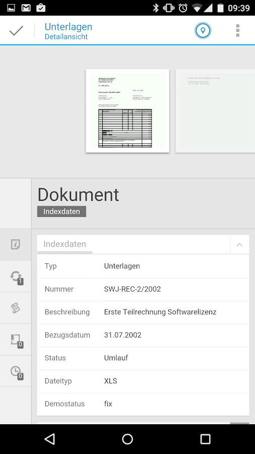 enaio – Screenshot