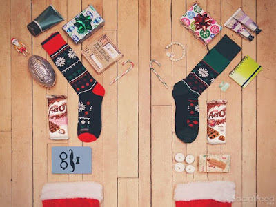 Hang everyones favourite by the chimney with care Who will you surprise