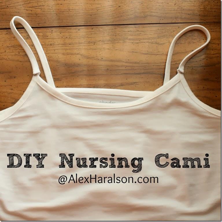Alex Haralson Diy Nursing Cami