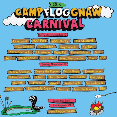 TICKETS ARE NOW AVAILIBLE FOR CAMP FLOG GNAW 2016 PLEASE COME AND