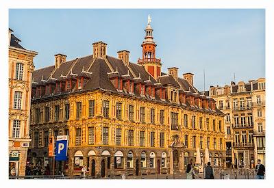 Geocaching in Flandern - Lille - Die alte Börse
