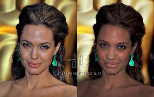 El lado oscuro de Angelina Jolie - www.antesydespues.com.ar
