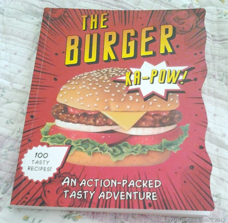 recipe book for burgers