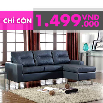 Sofa góc Giá duy nhất 1499K Rinh ngay một ghế sofa Helena