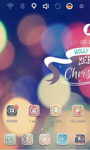 Holly Jolly 메리 크리스마스 런처플래닛 테마