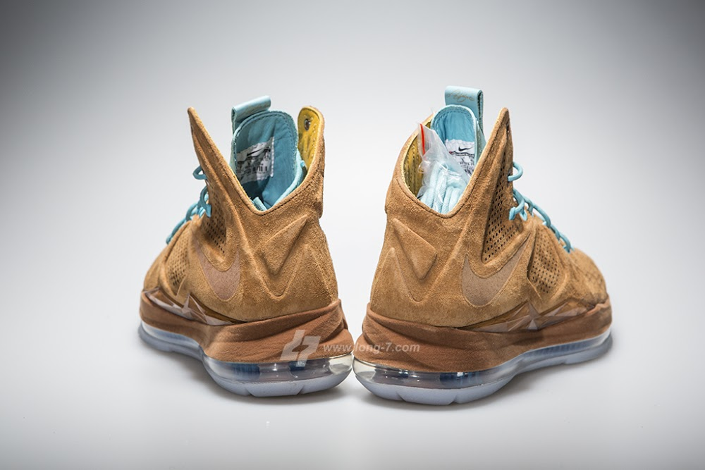 bf64ba5af35e ... Upcoming Nike LeBron X EXT Brown Suede 8211 New Pics ...
