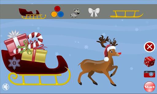 Christmas Sleigh Maker - Kids